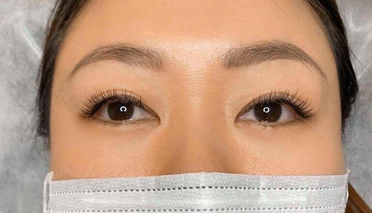eyelash extensions vs lash lift